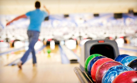 2 Games of Bowling and Shoe Rental for 2 (a $24 value) - Spare Time & Shaker Bowl in Northampton