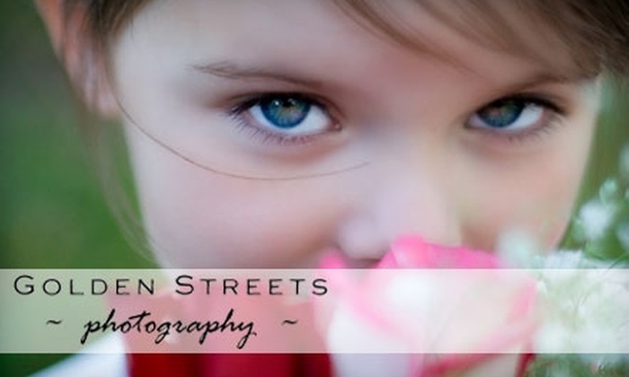 "Golden Streets Photography - Louisville: $60 for a One-Hour Photo Session Plus Two 8""x10"" Prints and a DVD or CD of Digital Images from Golden Streets Photography ($300 Value)"