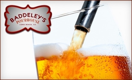 $20 Groupon to Baddeley's Pourhouse - Baddeley's Pourhouse in Long Beach