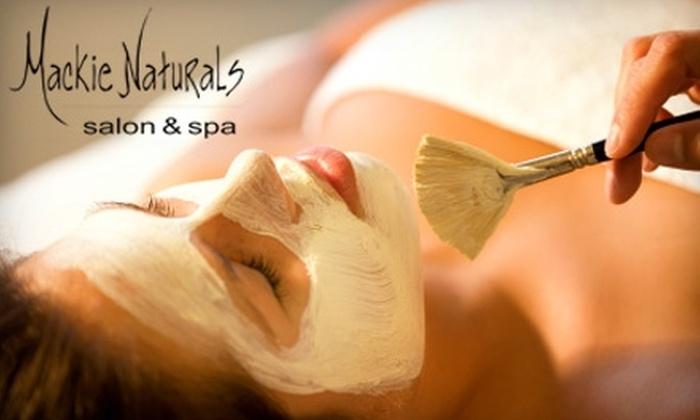 Mackie Naturals Salon & Spa - Mission: $49 for a Seasonal Eminence Organic Facial at Mackie Naturals Salon & Spa ($98 Value)