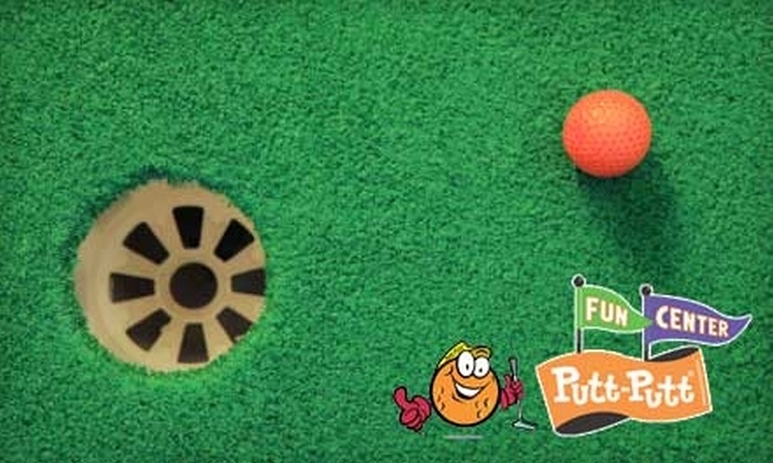 Putt-Putt Fun Center - Hollins: $15 for Four Attractions and 40 Tokens at Putt-Putt Fun Center ($34 Value). Choose Between Two Locations.