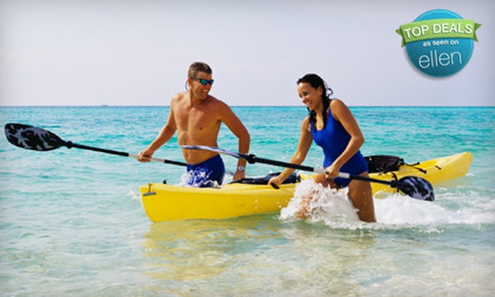 Cast and Cruise Boat and Sport - Magnolia: Rental of Single or Tandem Kayak or Pontoon Boat from Cast and Cruise Boat and Sport in St. Augustine (Up to 57% Off)