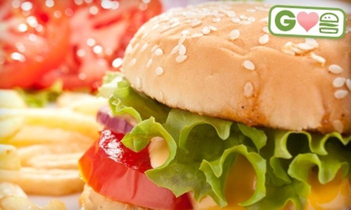 Sundown Bar and Grill - Williamsburg: $7 for $14 Worth of Burgers and Grill Fare at Sundown Bar & Grill