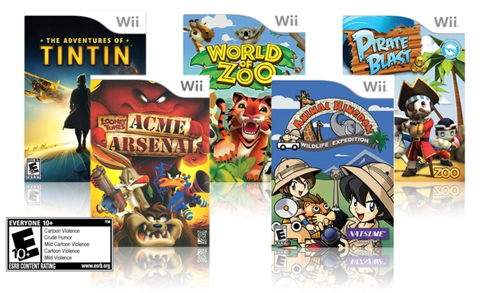 5-Game Wii Kids Bundle: 5-Game Wii Kids Bundle