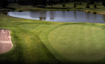 GreatLife Golf & Fitness: Four Greens Fees Plus Two Carts - GreatLife Golf & Fitness in
