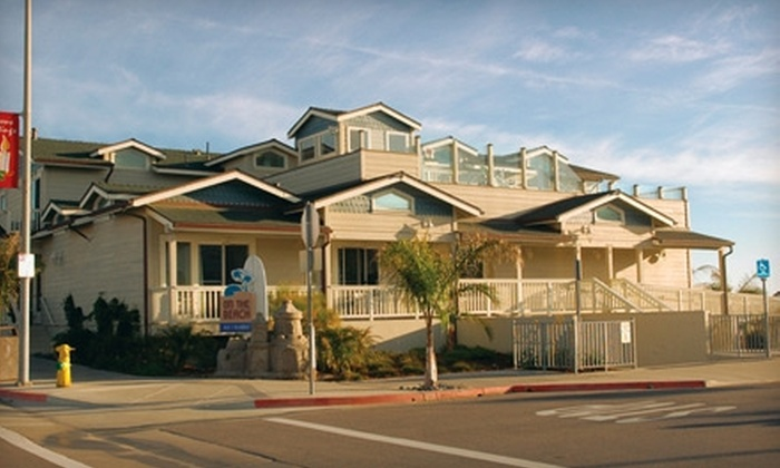 On the Beach Bed and Breakfast - North Coast: $129 for One-Night Stay at On the Beach Bed and Breakfast, and Wine Tasting at Harmony Cellars Winery in Cayucos (Up to $259 Value)