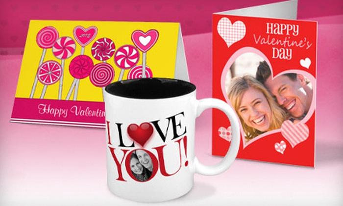 Zazzle.com: Custom Valentine's Day Mugs or Cards from Zazzle.com (Half Off)