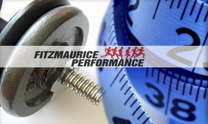 Fitzmaurice Performance - Ballwin: $45 for Three Personal Training or Pilates Reformer Sessions at Fitzmaurice Performance ($225 Value)