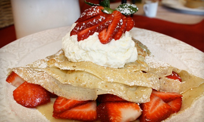 Faith's Crepes - Granite Bay: Crêpes and More at Faith's Crepes in Granite Bay. Two Options Available.