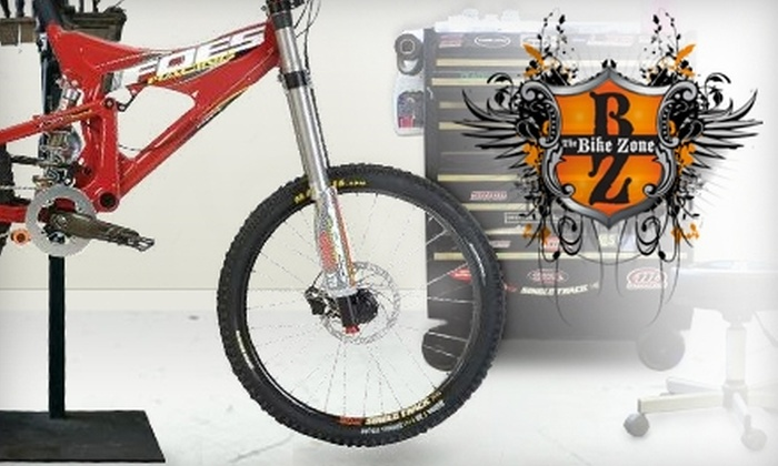 The Bike Zone - City Center: $28 for a Standard Bike Tune-Up at The Bike Zone ($56.44 Value)