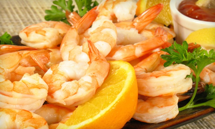 The Silver Flame - Tulsa: $20 for a Shrimp Dinner for Two at The Silver Flame ($40 Value)