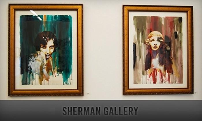 Sherman Gallery - Marina Del Ray: $40 for $100 Worth of Framing at Sherman Gallery in Marina del Rey