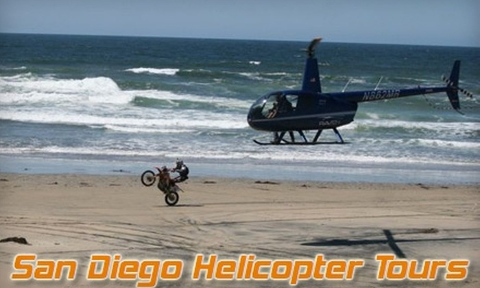 San Diego Helicopter Tours - El Cajon: $89 for a 30-Minute Helicopter Tour from San Diego Helicopter Tours ($250 Value)