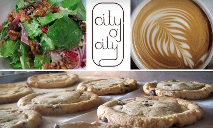 City O' City - Capitol Hill: $7 for $14 Worth of Vegetarian Cuisine at City, O' City