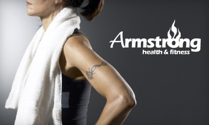 Armstrong Health & Fitness - Copley: $40 for Six One-Hour Personal-Training Sessions ($210 Value) or $45 for Six Weeks of Unlimited Boot Camp ($99 Value) at Armstrong Health and Fitness in Copley
