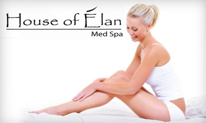 House of Élan - West Plaza: $119 for Six Laser Hair-Removal Treatments at House of Élan (Up to $750 Value)