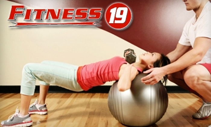 Fitness 19 - Avery West: $39 for a One-Hour Personal-Training Session, Two Months of Membership, and a Sign-Up Fee at Fitness 19 ($186 Value)