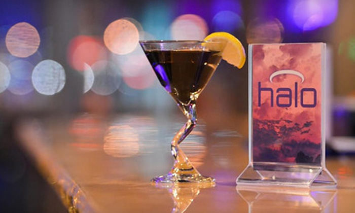 Halo Ultra Lounge - West Omaha: VIP Outing with Table, Round of Shots, and Bottle Service for 5 or 10 at Halo Ultra Lounge (Up to 70% Off)