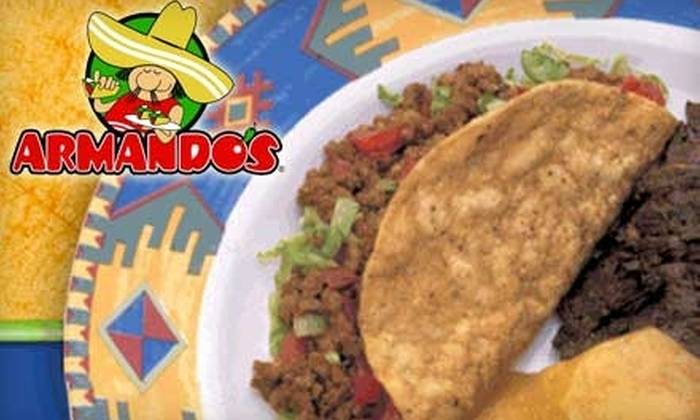 Armando's Mexican Restaurant - Vernor: $8 for $20 Worth of Mexican Fare and Drinks at Armando's Mexican Restaurant