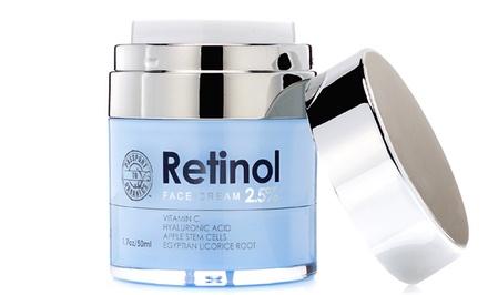 Passport to Organics Retinol 2.5% High Potency Anti-Aging Cream, 1.7oz
