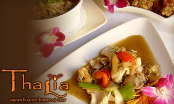Simply Thalia Chicago - Loop: $6 for $12 Worth of Asian-Fusion Cuisine and Drinks at Simply Thalia