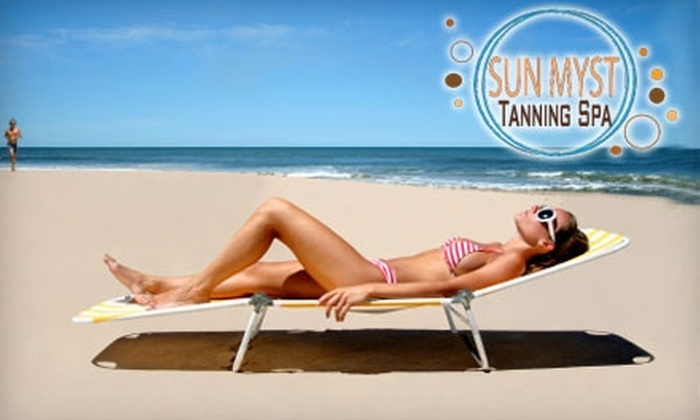 Sun Myst Tanning Spa - Center City West: Tanning Services at Sun Myst Tanning Spa (Up to $90 Value). Choose from Three Options.