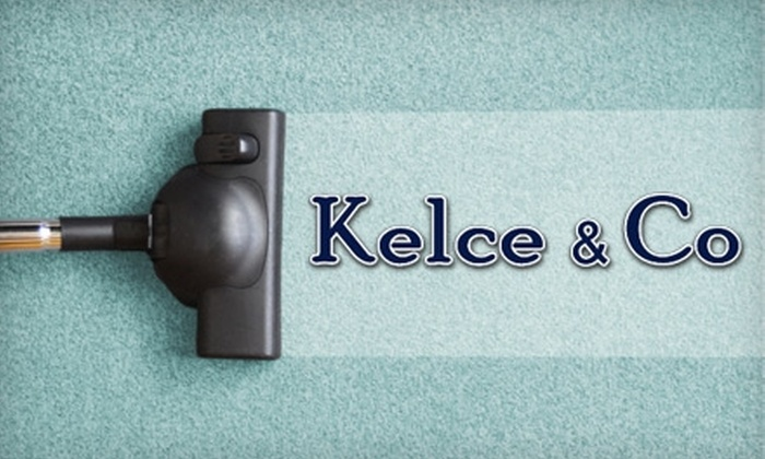 Kelce and Company - Rockford: $55 for Two Rooms of Carpet Cleaning from Kelce and Company ($115 Value)