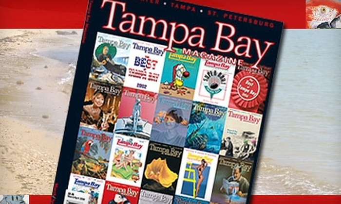 """""""Tampa Bay Magazine"""" - Northwood: $12 for a Three-Year Subscription to """"Tampa Bay Magazine"""" ($26 Value)"""