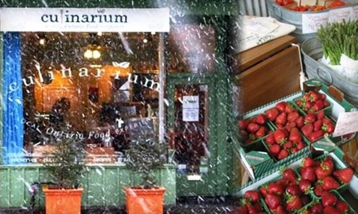 Culinarium - Davisville: $15 for $30 Worth of Local Organic Gourmet Groceries at Culinarium in Midtown