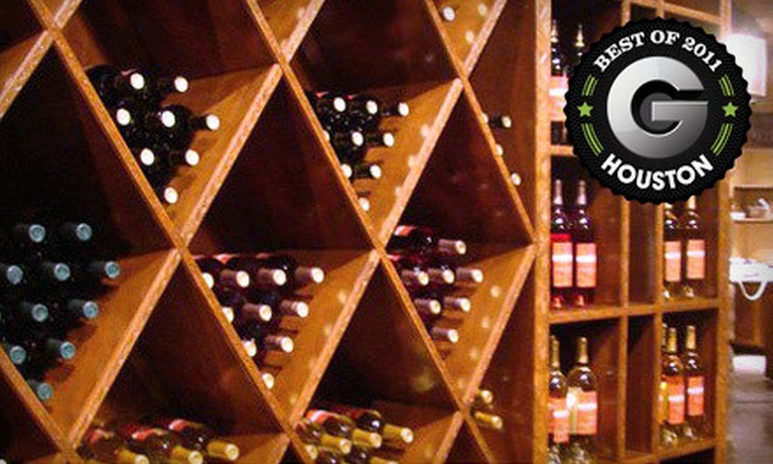 The Cellar Door Katy - Houston: Wine-Education Class for 1, 2, or 10 at The Cellar Door in Katy (Up to 80% Off)
