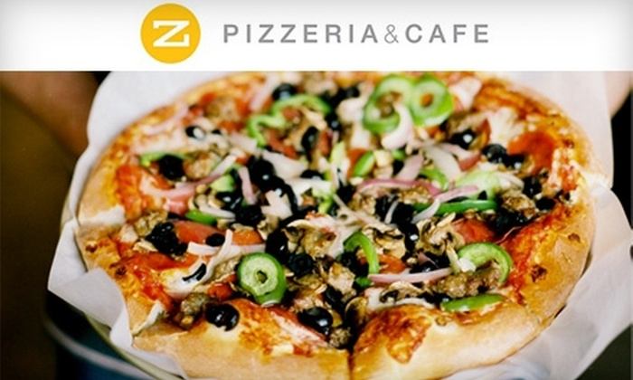 Z Pizzeria & Cafe - Sugar House: $10 for $20 Worth of Specialty Pies, Drinks, and More at Z Pizzeria & Cafe