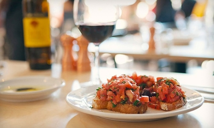 Panevino - Broadway: $20 for $40 Worth of Italian Fare and Drinks at Panevino