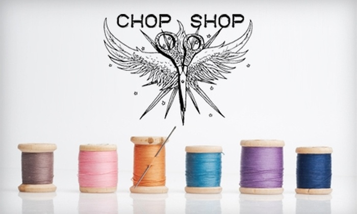 Chop Shop Costumes - Wells Park: $49 for Four Sewing Classes at Chop Shop ($100 Value)