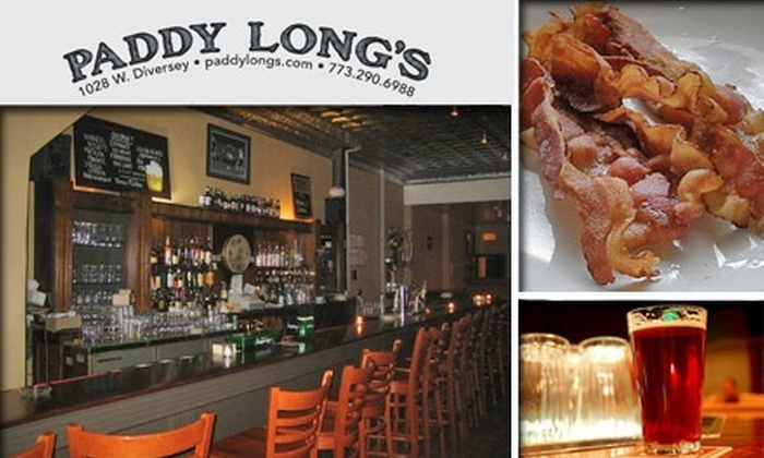 Paddy Long's Beer Pub - Lakeview: $20 Beer and Bacon Tasting at Paddy Long's Pub ($35 Value)