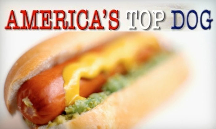 America's Top Dog - Tucker: $7 for $15 Worth of Specialty Hot Dogs and Drinks at America's Top Dog