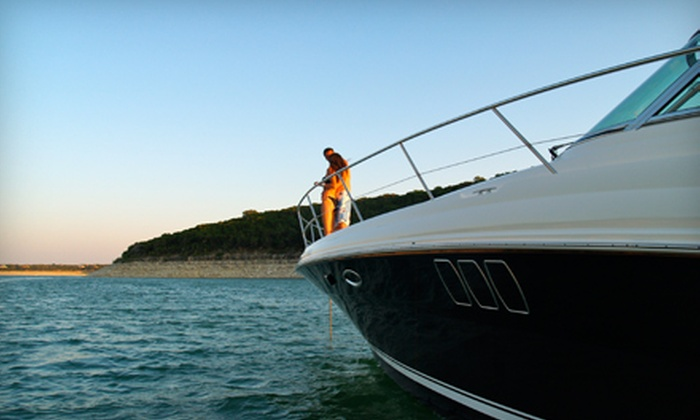 Freedom Boat Club - Lakeway: $397 for a Sunset Cruise for Two on Lake Travis from Freedom Boat Club ($795 Value)