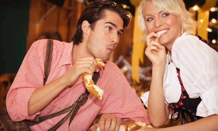 Oktoberfest presented by Yuengling - PNC Plaza: $10 for Oktoberfest Presented by Yuengling for Two at Steelstacks on October 12–14 (Up to $20 Value)