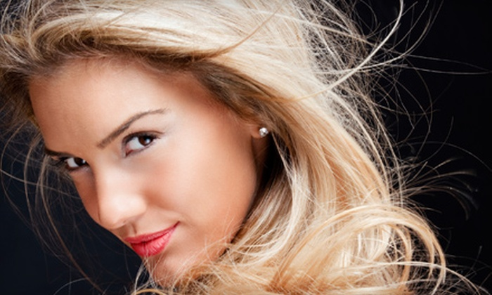 Creative Concepts Hair & Nail Salon - Woodmore - Dalewood: $49 for Partial Highlights, Haircut, and Conditioning Treatment at Creative Concepts Hair & Nail Salon ($115 Value)