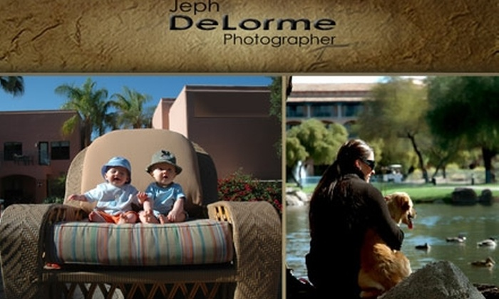 Jeph DeLorme Photography  - North Scottsdale: $60 for 60-minute Photo Shoot and 8 Retouched Digital Images with Jeph DeLorme Photography
