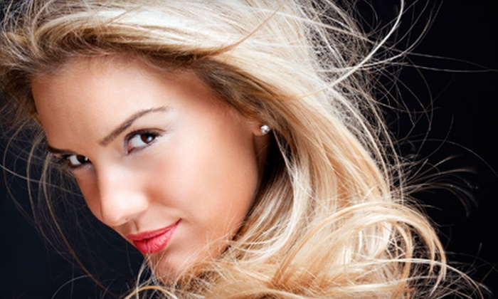 The Salon - 2: Redken Clear Hair Glaze or Single-Color Partial Highlights at The Salon (51% Off)