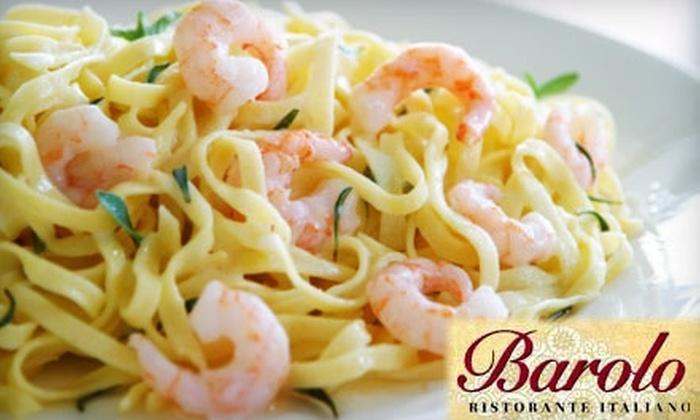 Barolo Ristorante Italiano - University City: $20 for $45 Worth of Italian Fare at Barolo Ristorante Italiano