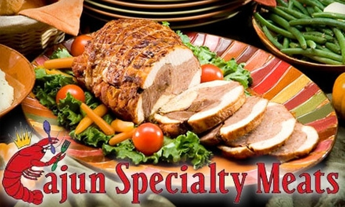 Cajun Specialty Meats - Southeast Pensacola: $10 for $20 Worth of Meats, Deli Fare, and More at Cajun Specialty Meats