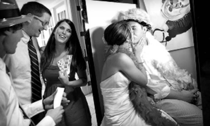 Black Tie Photo Booths - Kansas City: $599 for a Three-Hour Photo-Booth Rental and Unlimited Prints from Black Tie Photo Booths (Up to $1,200 Value)