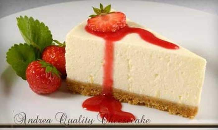Andrea Quality Cheesecake - Fairview Shores: $7 for $15 Worth of Cheesecake Products at Andrea Quality Cheesecake