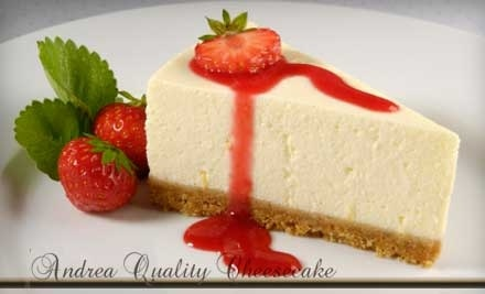 $15 Groupon to Andrea Quality Cheesecake - Andrea Quality Cheesecake in Orlando