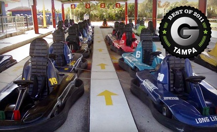 5-Attraction Fun Pass Valid from 10 a.m. to 6 p.m. - Grand Prix Tampa in Tampa