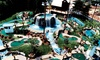 Captain's Cove Adventure Golf - Hampton: 18 Holes of Mini Golf and Small Ice Creams for Two or Four at Captain's Cove Adventure Golf (Up to 45% Off)