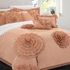 Sheffield Floral Pleated Appliqué Comforter Set (7-Piece)