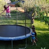 Kinetic 14' Trampoline with Enclosure and Ladder Kit