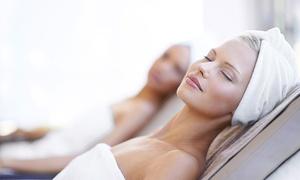 Noir Village Srl Unipersonale: Percorso con 7 o 10 sedute di sauna infrarossi e massaggi tonificanti al centro Noir Village (sconto fino a 83%)